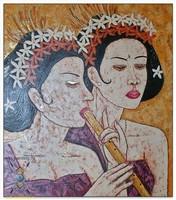 Современная живопись Индонезии - Серьёзные