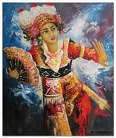 Современная живопись Индонезии - Экспрессия Легонга