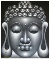 Современная живопись Индонезии - Серые раздумья Будды