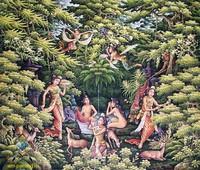 Современная живопись Индонезии - Легенда ( Джака Таруб )