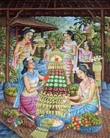 Современная живопись Индонезии - Церемония