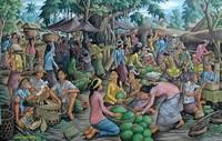Современная живопись Индонезии - Рынок