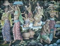 Современная живопись Индонезии - Балийцы