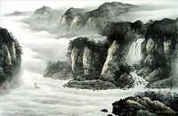 Китайская живопись, Гохуа - Путешествие через горы II