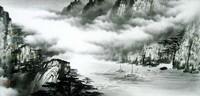 Китайская живопись, Гохуа - Путешествие через горы III