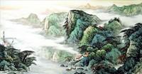Китайская живопись, Гохуа - Проживая в глубине гор II