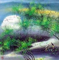 Китайская живопись, Гохуа - Летний пейзаж
