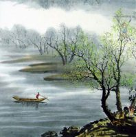Китайская живопись, Гохуа - Весна