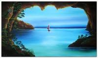 Морские пейзажи (современная марининстика) - Пещера
