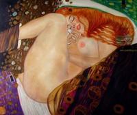 копии картин Климта - Даная