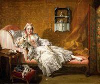 """Фото (репр. картины) для статьи: """"Буше, Франсуа - картины: мифологическая и эротическая живопись, жанр и портрет, пейзажи"""""""