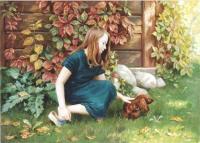Детский портрет - Настя