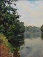 пейзажная живопись - Тихое утро