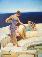 Репродукции - копии маслом  шедевров живописи - Серебристые фавориты