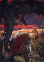 Разное -  «Бой Добрыни Никитича с семиглавым Змеем Горынычем» картина Васнецова Виктора Михайловича