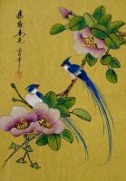 Современный натюрморт художников мира - Цветы и птицы