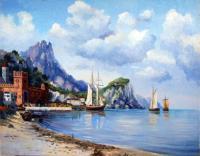 копии - Морские пейзажи - Итальянский пейзаж
