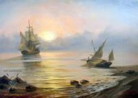 копии - Морские пейзажи - Рассвет