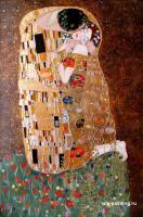 копии картин Климта - Поцелуй Копия