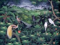 Пейзажи ( пейзажная живопись ) - пейзаж <Райские птицы>