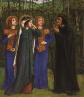 Разное - Встреча Данте и Беатриче в раю