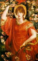 картина Видение Фиамметтты :: Данте Габриэль Россетти, 1878 89 х 146 см