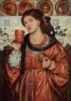 картина Кубок любви :: Данте Габриэль Россетти, 1867