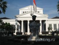 Джакарта. Национальный музей истории и культуры Индонезии. (Jakarta, Museum Nasional di Indonesia, Jl. Medan Merdeka Barat, 12)