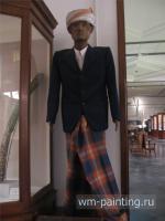 Статуя «тау-тау». Тораджи. - Национальный музей истории и культуры Индонезии.