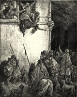 Разное - картина, графика - Смерть царицы Иезавели   - Гюстав Доре