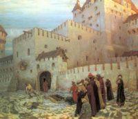 Московский застенок. Конец 16 века, Аполлинарий Васнецов