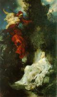 Разное - картина Спящая Белоснежка :: Ганс Макарт