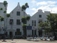 Музей кукол театра Ваянг, Джакарта, Индонезия