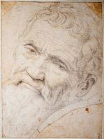 Портрет Микеланджело <i>флоренции</i> написанный Даниэле да Вольтерра (Daniele da Volterra)