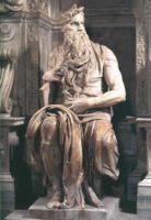 Статуя Моисея (Moses) для гробницы папы римского Юлия II