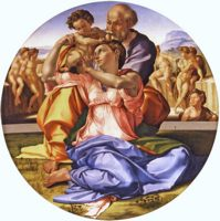 Тондо Мадонны Дони (Doni Tondo) (1504–1506)