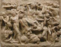 Барельеф Битва кентавров (The Battle of the Centaurs) (1492)