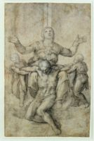 Рисунок Пьета Виттории Колонна (The Pieta of Vittoria Colonna) (приблизительно 1540)
