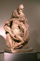 Микеланджело и Тиберио Кальканьи, статуя Флорентийская пьета (Pieta Firenze) (приблизительно 1550–1561)