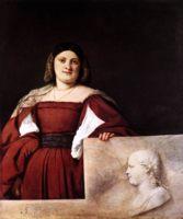 Портрет женщины (La Schiavona), Тициан