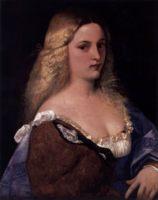 портрет Виоланта (Ла Белла Гатта), Тициан