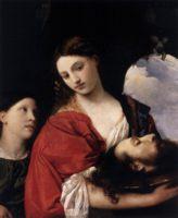 портрет Юдифль (Джудит, Judith), Тициан