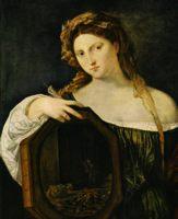 Светская любовь (тщеславие), картина Тициана