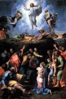 Рафаэль, картина Преображение (Transfiguration) 1520 год, картина закончена прямо перед его смертью