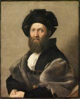 Рафаэль, Портрет Бальдассаре Кастильоне (Portrait of Balthasar Castiglione), прибл. 1515 год.
