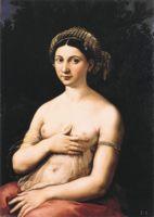 Рафаэль, «Форнарина» (La Fornarina) возлюбленная Рафаэля.