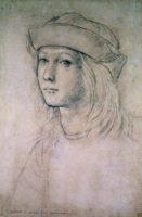 Возможный автопортрет Рафаэля, написанный в юности.