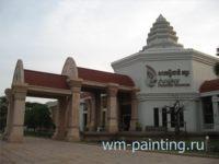 Ангкор. Национальный Музей. Сием-Риеп, Камбоджа