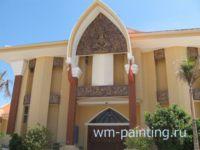 Музей и центр культуры народа Чам. Провинция Бинь Туан. Вьетнам