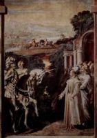 Разное - картина Алкина встречает Руджеро